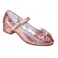 Girls pink sparkly shoes