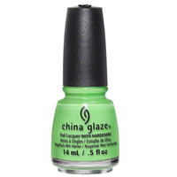 China Glaze Lime After Lime Nail Polish (Lite Brites 2016 Collection)