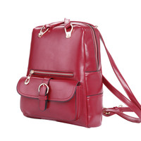 On Sale Hot Deal Comfort Back To School College Fashion Stylish Korean Casual Backpack [6583221959]