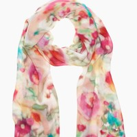 giverny floral scarf