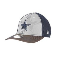 Dallas Cowboys New Era Neo NFL 39THIRTY Stretch Fit Hat Flex Mesh Back Cap 3930