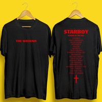 The Weeknd Tshirt, Weeknd, XO, Starboy, The Weeknd Tour, Legend of the fall, Weeknd Tshirt, Starboy Tour, Starboy Merch, The Weekend Merch