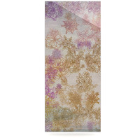"Marianna Tankelevich ""Retro Summer"" Yellow Pink Luxe Rectangle Panel"