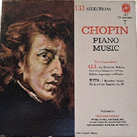 CHOPIN PIANO MUSIC Vox Stereo 12 Records 131 Selections Boxed Set 1953 Vsps-1