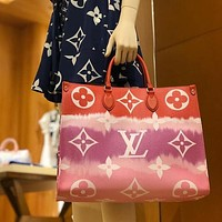 Louis Vuitton LV Hot Sale Rainbow Series Handbag Bucket Bag Fashion Lady Street Style Shoulder Bag