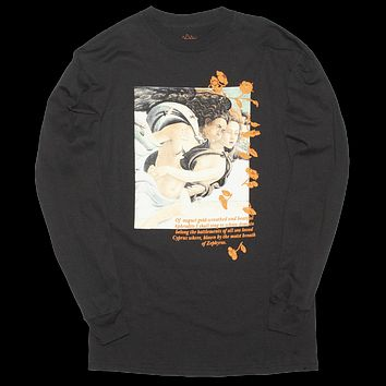 Aphrodite Puffy Ink Long Sleeve Graphic Tee