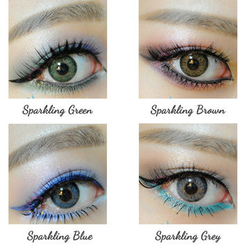 GEO Sparkling Series  Circle Lenses Colored Contacts Cosmetic Color Circle Lens | EyeCandy's