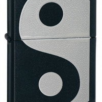 Zippo Yin and Yang Black Matte Lighter