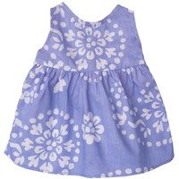 Fair Trade Baby Sundress Violets