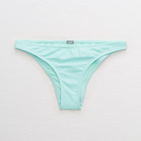 Aerie Cheeky Bikini Bottom, Green