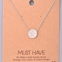 You Make Me Happy Necklace (Silver)