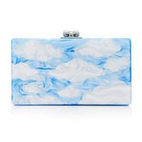 M'O Exclusive Painted Cloud Clutch | Moda Operandi