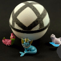 Net Ball Bath Bomb - Pokemon Toy Inside
