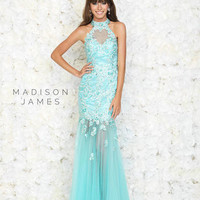 Madison James Prom 15-141 Madison James Lillian's Prom Boutique