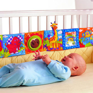 Baby, Infant Animal Cloth Crib Book Infant Baby Intelligence Development Toy Bed Cognize Books