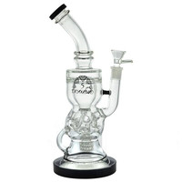 "12"" Stemless + Showerhead + Klein Recycler + Faberge Egg + Beehive + Bent Neck + Color. 5 DIAMOND water pipe."