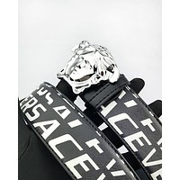 Versace hot seller of printed multicolored belts for men and women #7