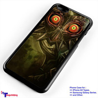 Legend of Zelda Majora Mask - Personalized iPhone 7 Case, iPhone 6/6S Plus, 5 5S SE, 7S Plus, Samsung Galaxy S5 S6 S7 S8 Case, and Other