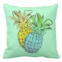 Pineapples Tropical Pillow
