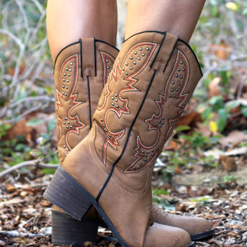 American Chick Cowboy Boots