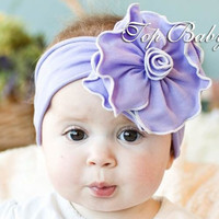 Floral headband baby girls Hair band Bow