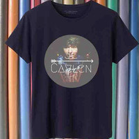 JC Caylen Cloud tshirt for men and women black and white tee