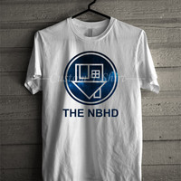 The nbhd band t shirt Neighbourhood -EN Unisex T- Shirt For Man And Woman / T-Shirt / Custom T-Shirt