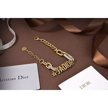 Dior Woman Fashion Accessories Fine Jewelry Ring & Chain Necklace & Earrings 11