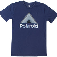 Polaroid Triangle Navy Tee by Altru Apparel (L Sold Out)