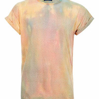 Multi Burnout Tie Dye T-shirt