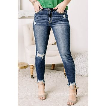 Living The Good Life High Rise Skinny Jeans