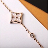 lv louis vuitton woman fashion accessories fine jewelry ring chain necklace earrings 89