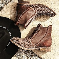 faryl robin + Free People Womens Panama Woven Chelsea Boot