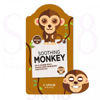 L'affair Animal Soothing Monkey Mask  *exp.date 04/18*