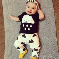 Cute 3 6 9 12 18 24 Months t Shirt Pants Sets Baby Boy Clothes Outfits