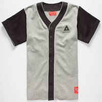 Ayc Ace Mens Baseball Jersey Grey  In Sizes