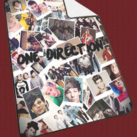 harry styles photo collage one direction 50ed5c3b-2cff-47f3-9390-c5f37434c4db for Kids Blanket, Fleece Blanket Cute and Awesome Blanket for your bedding, Blanket fleece*NS*