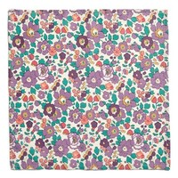 Flowers of Liberty Floral Print Handkerchief