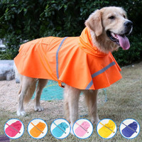Big Dog Raincoat Pet Jacket Clothes for Large Dog Waterproof Outdoor Rain Coat Pet Apparel Ropa Cachorro Dropshipping 20