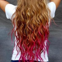 Temporary Hair Colored Chalk - Dip Dye Pastels, PICK ANY COLOR, Punk Glam