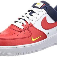Nike Air Force 1 07 LV8 Men's Shoes University Red/Universite Rogue 823511-601  air force ones nike