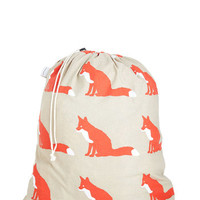 ModCloth Woodland Creature Tidy Up Your Den Laundry Bag