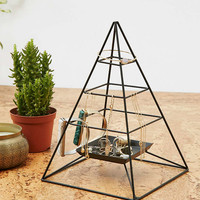Pyramid Wire Shelf Jewellery Stand - Urban Outfitters