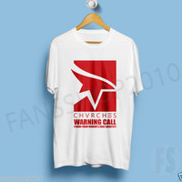 CHVRCHES Warning Call Mirror's Edge Catalyst White T Shirt Unisex Size S to XL