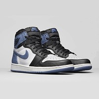 Air Jordan 1 Retro High OG ¡°ALL-STAR APPEARANCES¡± Blue Moon AJ1