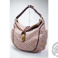 AUTH PRE-OWNED LOUIS VUITTON MONOGRAM IDYLLE ROMANCE HOBO BAG TOTE M56701 172493