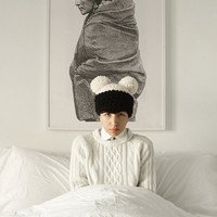 The Double Dipped Hat by Yokoo on Etsy