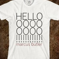 marcus butler HELLOOOOOOO shirt lol - TAYLOR WITH A CHANCE