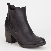 Mia Farwest Womens Boots Black  In Sizes