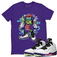 Arcade Machine T-Shirt - Air Jordan Ghost Green